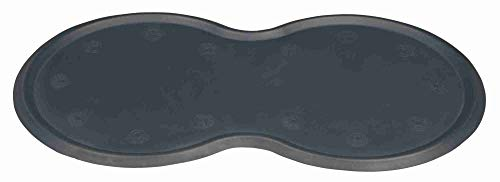 Trixie 24561 Napfunterlage, Naturgummi, 45 x 25 cm, dunkelgrau