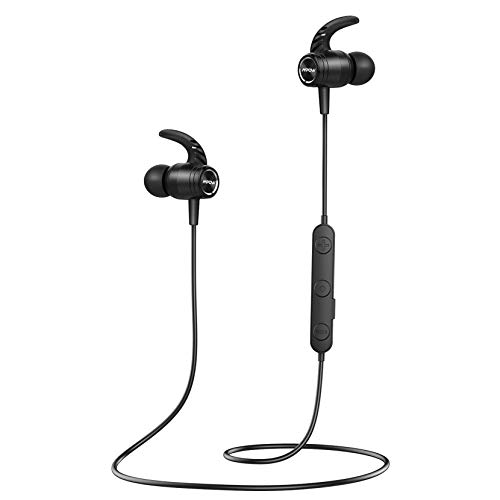 Bluetooth 5.0 Headphones, Mpow S10 Wireless Sports Headphones IPX7...