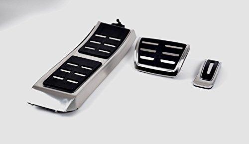 Audi 8K1064205B Pedalkappen-Set für A4/A5/Q5 Linkslenker Automatikgetriebe mit Fußstütze