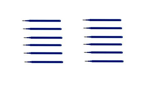 Pilot 2265003-12 Ersatzmine Frixion Point, Stärke 0.5 mm, 12 Stück, blau