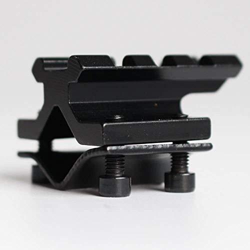 QFL Verstellbare Universal-Schiene 20mm Picatinny/Weber Fass-Einfassung Schienenadapter for Scope Laser-Taschenlampe Converter, Laservisiere Alle Metallmaterialien
