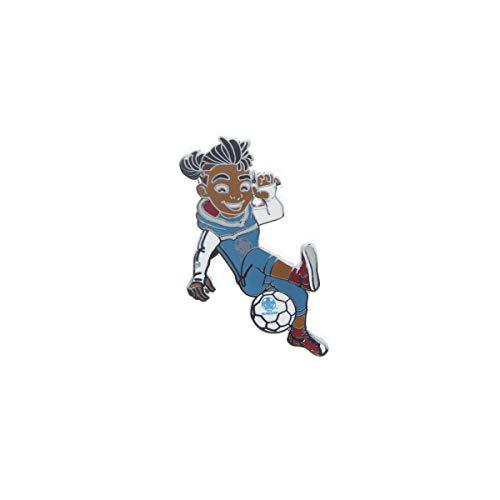 UEFA EURO 2020™ - Ansteckpin Skillzy offizielles Maskottchen - in Crossover Pose - 4 cm