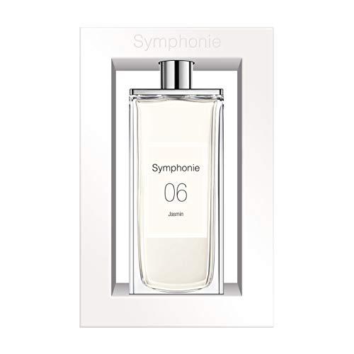 SYMPHONIE 06 Jasmin • Jazmín • Eau de Parfum 100ml • Vaporizador • Perfume para mujer • EVAFLORPARIS