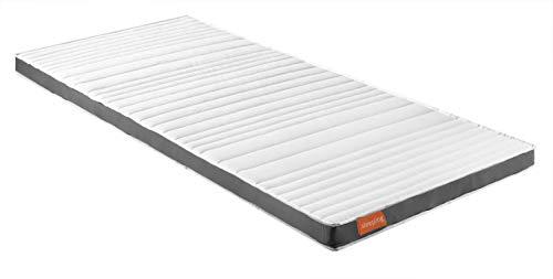 sleepling Premium Duo Topper mit Kaltschaum und Viscoschaum Seite und Klimaband, 90 x 200 x 8 cm, weiß