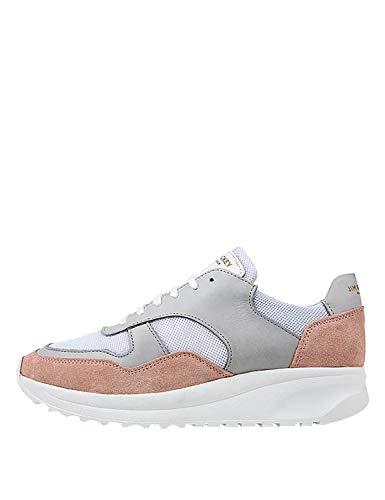 Jim Rickey Women's Race - Suede Sneakers Pink in Size 40