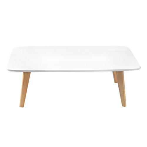 C-J-Xin Plier Petite Table, Creative Petite Table à Thé Salon Décoration Petite Table Basse Carrée Petite Table D'étude Table Lit Ordinateur Portable Bureau 100 * 38.5 * 34.5 CM Économiser de l'espace
