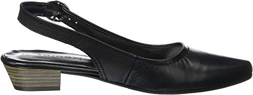 Tamaris Damen 29400 Slingback, Schwarz (Black Leather 003), 37 EU