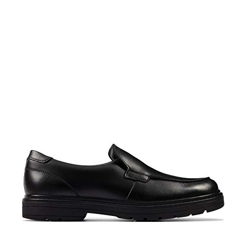 Clarks Loxham Grove Black Leather