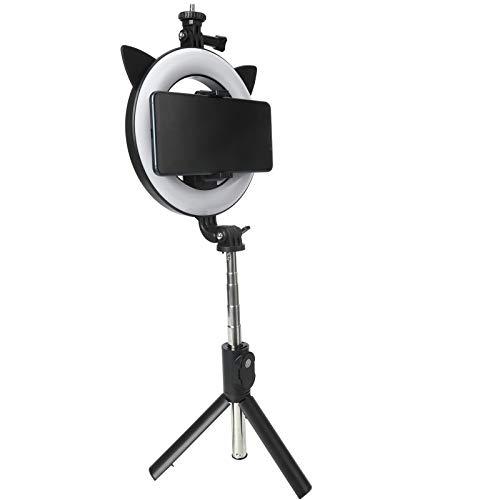 Wosune Palillo inalámbrico de Buetooth Selfie, Mini Selfie Stick Mayor Estabilidad para el hogar