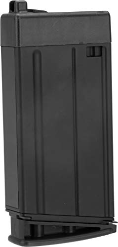 Evike 30 Round Magazine for Cybergun/FN Herstal Scar-H Gas Blowback Airsoft Rifle (Color: Black)