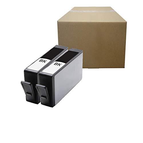 Inktoneram Compatible Ink Cartridges Replacement for HP 564XL (NEW VERSION) Photosmart 5510 5511 5512 5514 5515 5520 5522 5525 6510 6512 6515 6520 7510 7515 7520 B8550 C6340 C6350 C6380 (Black,2-Pack)