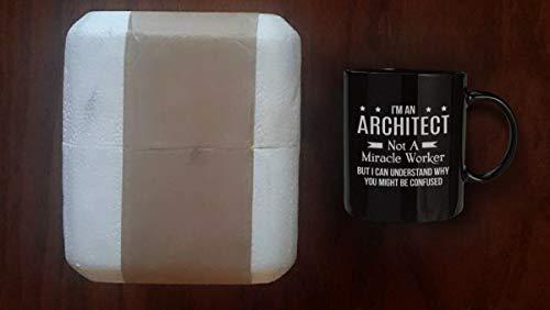 Funny Architect Cup – Taza de chiste de trabajo Miracle Worker – 16 oz café...
