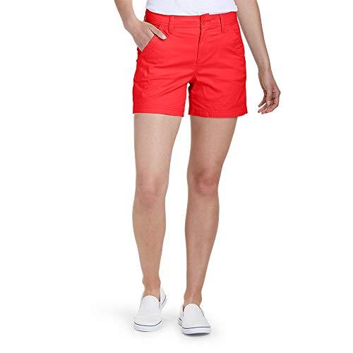 Eddie Bauer Women's Aspire Chino Shorts, Salsa Regular 2