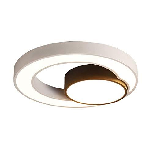 SPNEC Techo de acrílico del LED Lámpara Decorativa Moderna Simple atenuación Dormitorio de la lámpara de la Personalidad Creativa del Restaurante Estudio