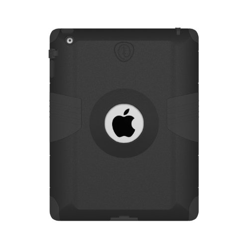 Trident Kraken AMS Case for iPad- Retail Packaging - Black