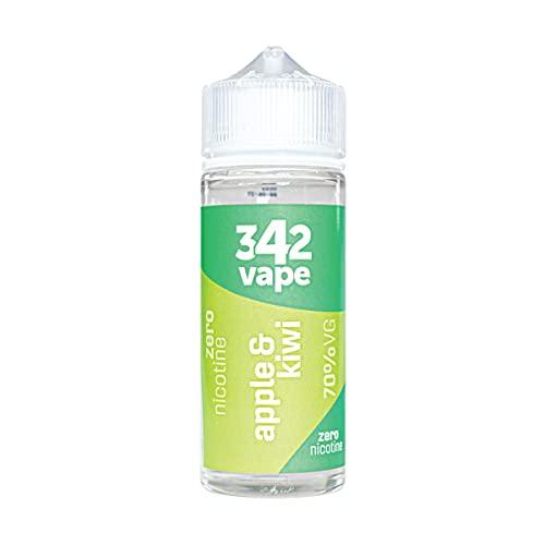 342 VAPE 120ml E Liquid 342 Apple and Kiwi | E Cigarettes Shortfill for...