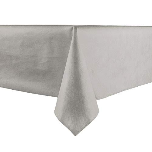 Givi Italia 62171 Tafelkleed Geweven cm.140X240 Zilver, Mulit Kleur, 140 x 240 cm