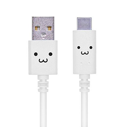 エレコム USB TYPE C ケーブル タイプC (USB A to USB C ) 3A出力で超急速充電 USB2.0準拠品 1.2m ホワイト MPA-FAC12CWH