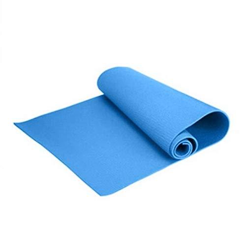 DKHF Yoga Mat 1730 * 610 * 6mm Eva Yoga Mat Alfombra Antideslizante Pilates Gym Sports Sports Almohadillas de Ejercicio para Principiantes Fitness Environmental Gimnasia Mats