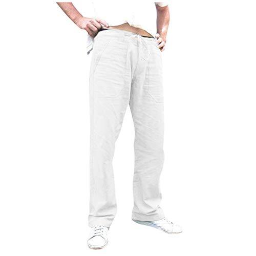 Cinnamou Hommes Salopette Imprimée Poche Sport Travail Pantalon Décontracté Coton Hip Hop Lâche Travail Long Pantalon Jeans