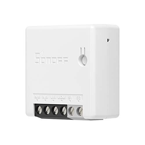 SONOFF ZBMINI ZigBee MINI Smart Switch, 2 Way ZigBee Interrupteur Compatible avec Alexa, SmartThings Hub, Philips Hue Bridge, Google Home...