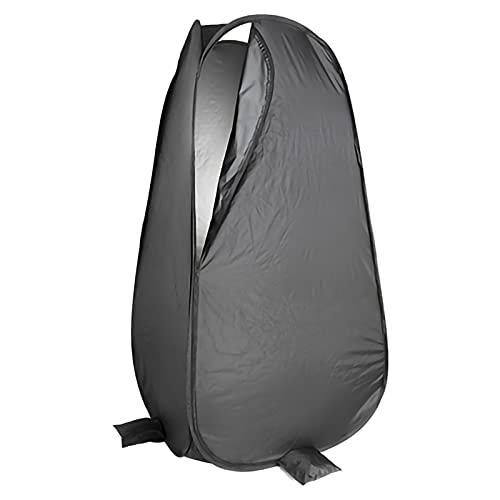 Tienda ducha cambiador Dispositivo de protección instantánea emergente portátil, baño plegable de ducha al aire libre y tienda de campaña cambiantes, vestuarios, se puede utilizar en el estudio para d