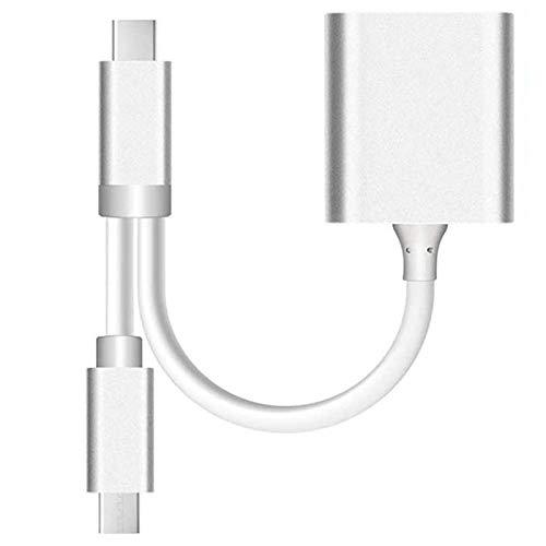Vrttlkkfe USB C a/lector de tarjetas MicroSD, USB 3,0 USB al aluminio compatible OTG del USB C