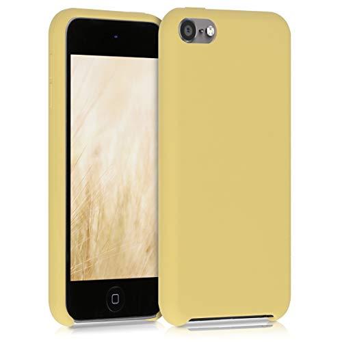 kwmobile Back-Cover Compatibile con Apple iPod Touch 6G / 7G (6a e 7a Generazione) Back Cover Soft Case gommata in Morbido Silicone TPU - Giallo Matt