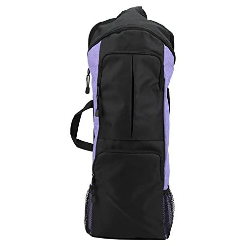 RUIRUIY Yoga Fitness Bolsa de Deporte Mochila de Viaje Diagonal Bolsa de Equipaje de Bolsillo Grande Multifuncional(Violeta)