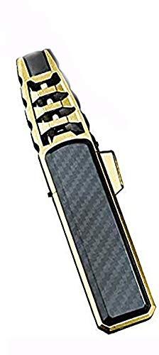 Ashopfun Turbine Torcher - Pen Spray Gun Jet Butane Pipe Lighter Metal Gas Kitchen, Refillable and Windproof Butane Fuel Lighter- Butane Not Included, Great Gift Idea for Men (Black)