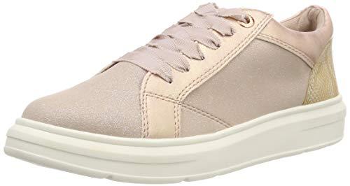 s.Oliver Damen 5-5-23627-22 552 Sneaker, Rose Glit.Comb, 40 EU