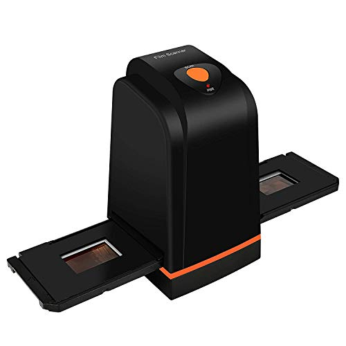 Escáner Negativo/Positivo de película con 3600DPI de Alta resolución, USB 35mm 135 Slide to Digital Conveter, Compatible con Windows XP/Vista / 7/8/10 (no Mac)