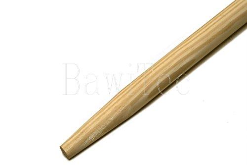 BawiTec Besenstiel Gerätestiel 140cm 160cm 200cm Holzstiel 28mm Besen Stiel (160cm)