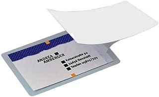 Sigel VZ215 - Film para el plastificado en frío de tarjetas, 100 unidades