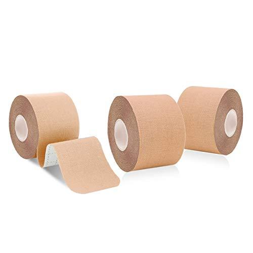 GARYOB Boob Tape Trägerloser Klebe BH Rückenfrei Nipple Cover Set Push-UP Band FÜR A-E Cup große Brust 5M