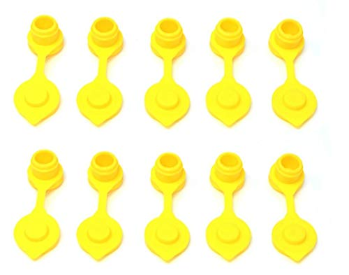 JSP Manufacturing Pick a Pack Yellow Fuel Gas Can Vent Cap Chilton Briggs Rotopax Gott Anchor Multipack Pricing (10)