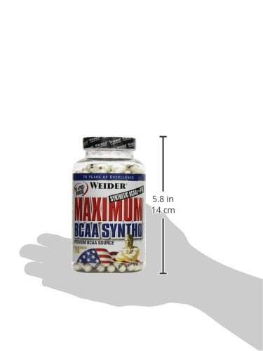 Weider Maximum BCAA Syntho + PTK, Neutral, 1er Pack (1 x 210 g) - 3