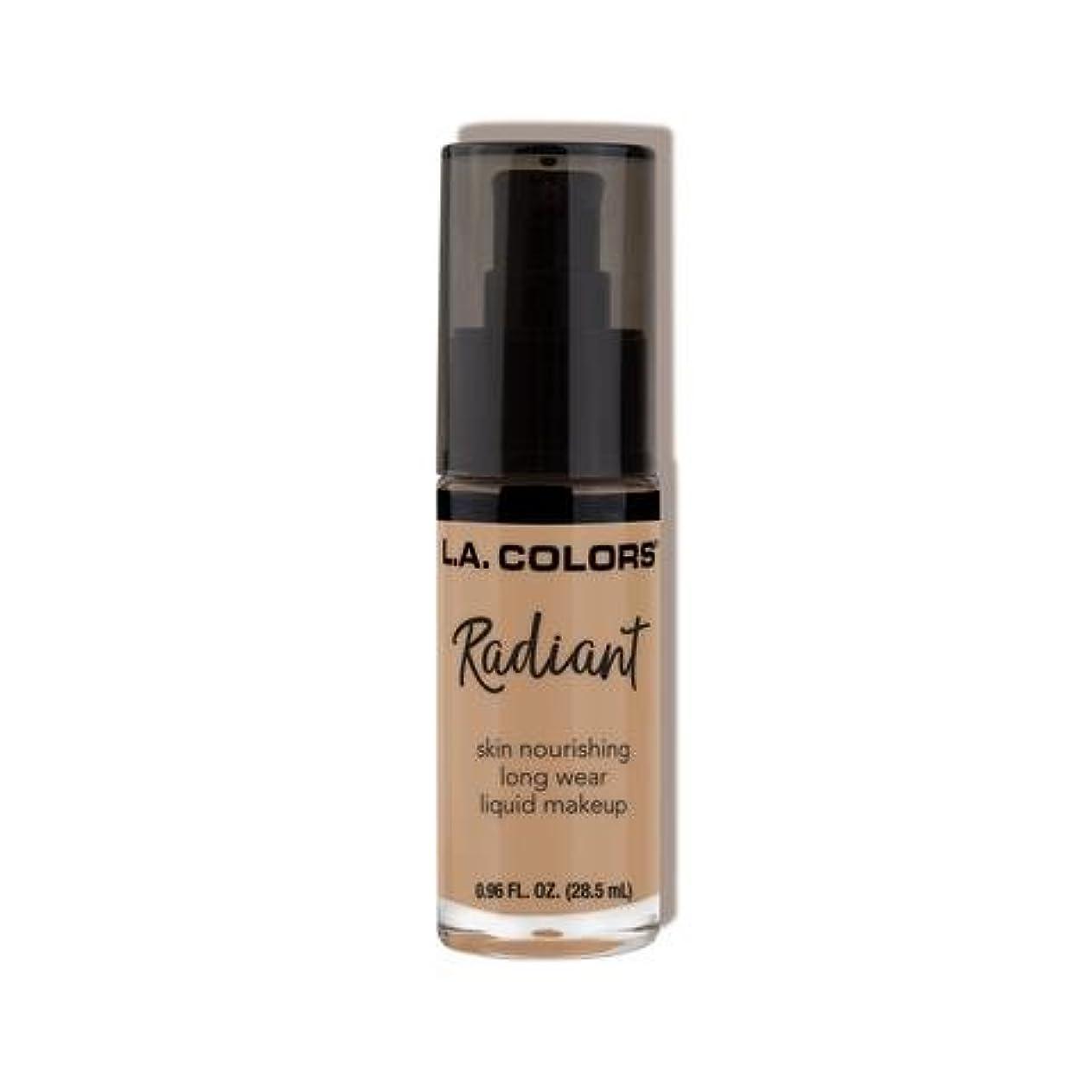 美的憧れシャーク(3 Pack) L.A. COLORS Radiant Liquid Makeup - Medium Beige (並行輸入品)