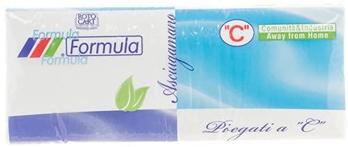Lot de 20 serviettes Ac Formula X152 2 plis, accessoire pour la cuisine et la table