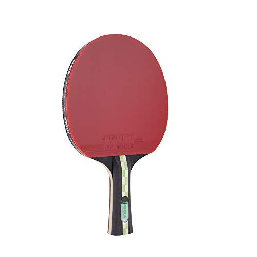 JOOLA TT Mega Carbon ITTF zugelassener Tischtennis-Schläger für Fortgeschrittene Spieler-Carbowood Technologie, 2,0 MM Schwamm