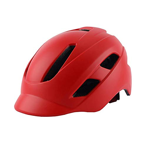 BDLeKing Casco de Bicicleta para Adultos, Casco de Ciclismo Ajustable, Tapa Antideslizante...