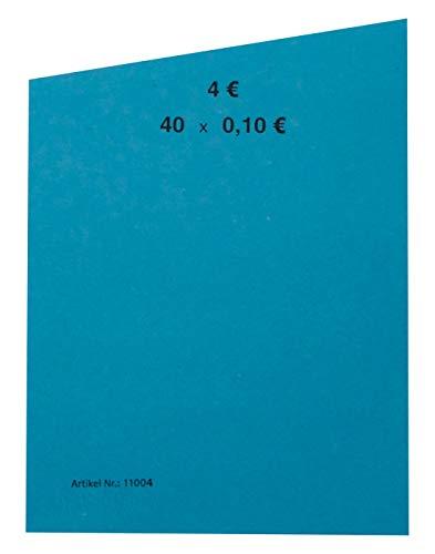 EURO Münzen Handrollpapier 50 Stück von 1 Cent bis 2 EUR frei wählbar EUR Münzrollpapier (50 Stück 10 Cent)