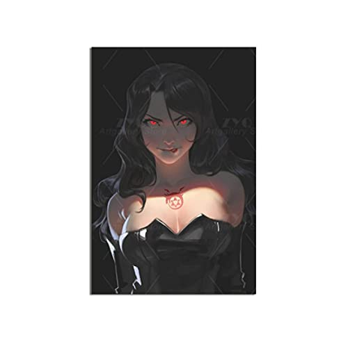 Póster de Anime Full Metal Alchemist Lust HD Impresión en lienzo Arte al óleo Habitación de la pared Decoración del hogar Colgante moderno para vivir Dorm-60x80cm Sin marco