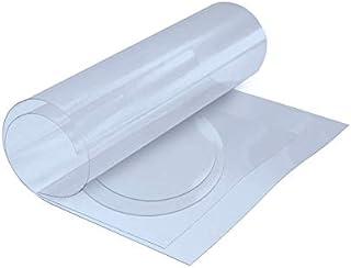 Nappe Cristal Transparente, épaisse, différentes Dimensions Ronde ou rectangulaire, Protection Table ou Meuble, Imperméabl...