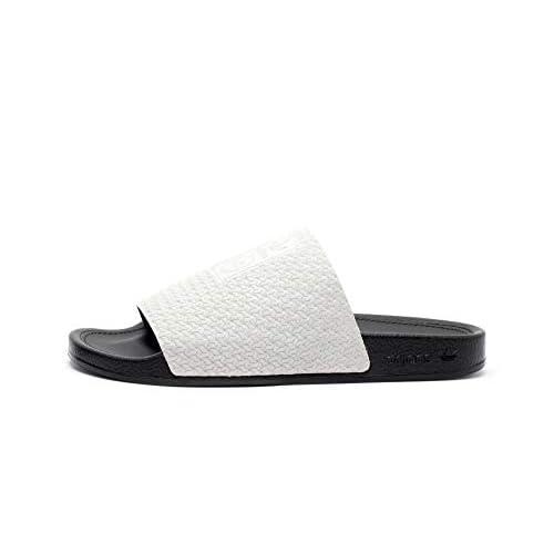 Adidas Adilette Luxe W (nero/grigio), Nero (Nero ), 40.5 EU