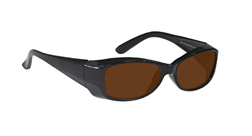 Laser Safety Glasses with IPL Brown Contrast Enhancement - Model 375