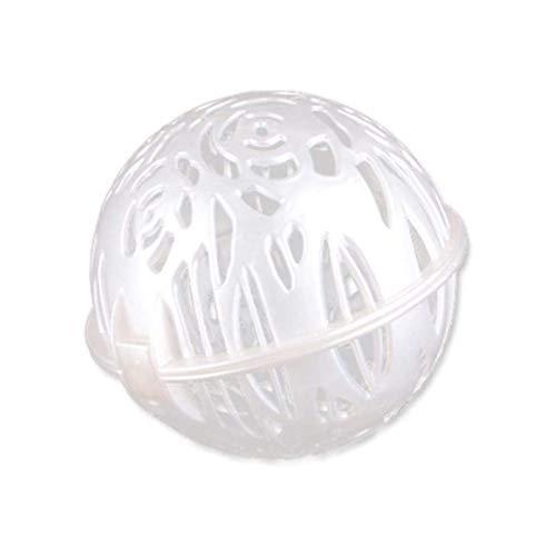 Huachaoxiang Bola para Lavadora, Bola de Lavado para detergente líquido, Bola de lavandería de Sujetador para Lavadora,Blanco