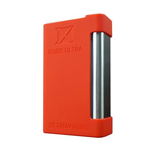 Silikon hülle, Abdeckung für Smok X Cube Ultra - beste Qualität, beste Farben, authentische VampCase - Rot