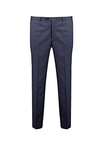 Benvenuto Herren Stoffhose Nero Modern Fit Dunkelblau, Größe:52, Farbe:Stimmungsblau