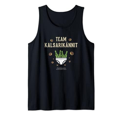 Kalsarikännit für Biertrinker Suomi Team Kalsarikännit Tank Top